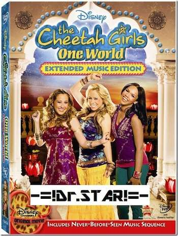 The Cheetah Girls One World 2008 Hindi Dual Audio BluRay Download