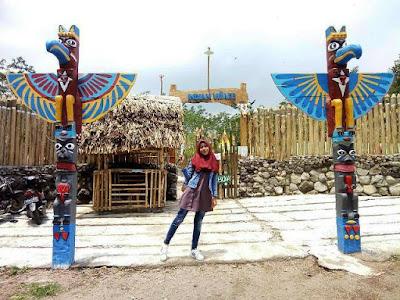 Kampung Indian di Kediri