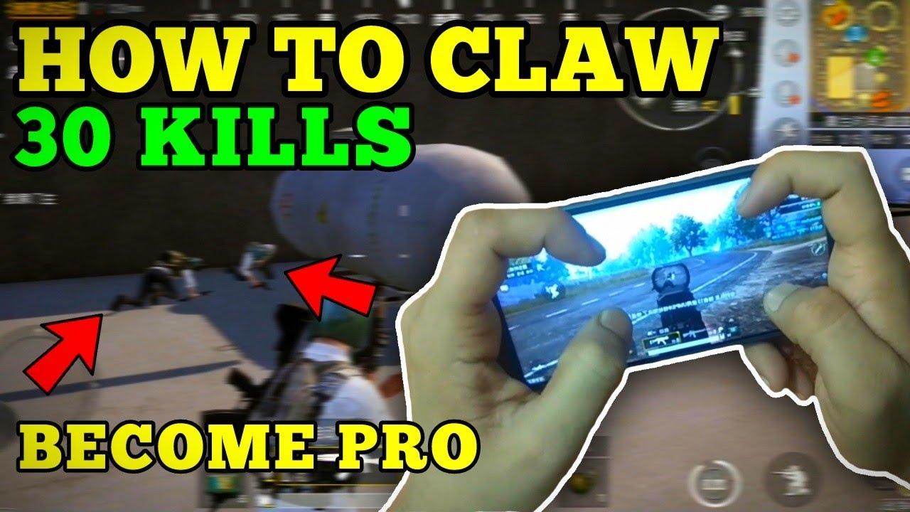 Pubg Mobile Claw Setup Pubg Claw Gameplay