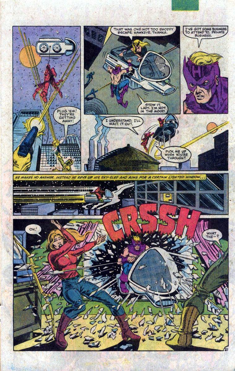 Hawkeye (1983) Issue #1 #1 - English 22