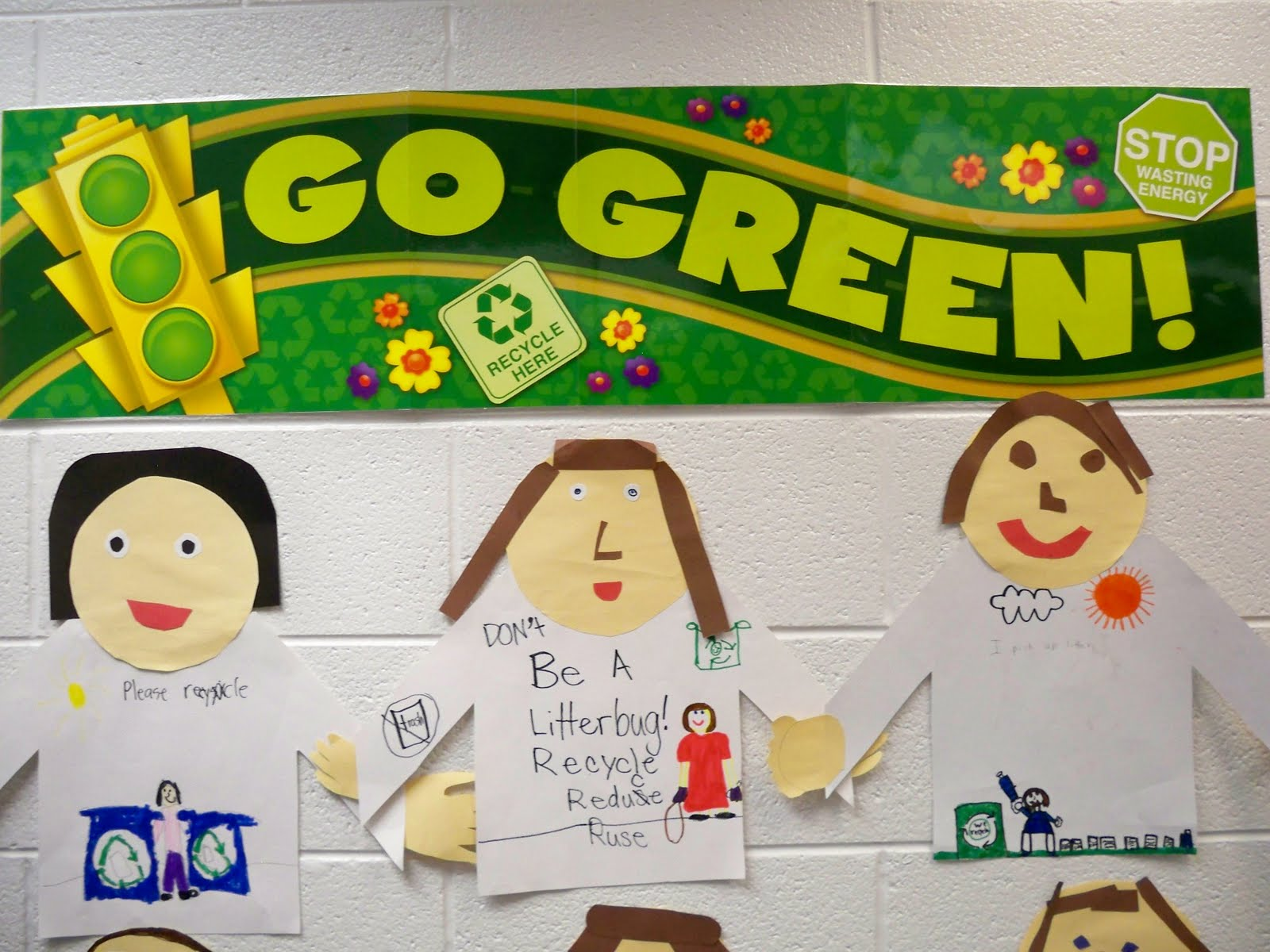 First Grade Best Going Green
