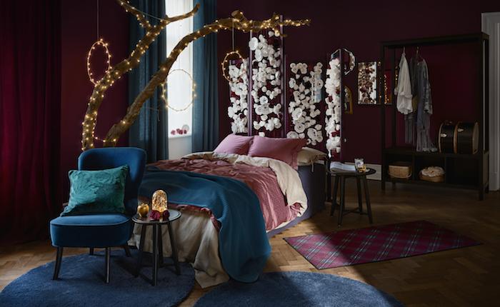 Colección Navidad IKEA 2019, dormitorio