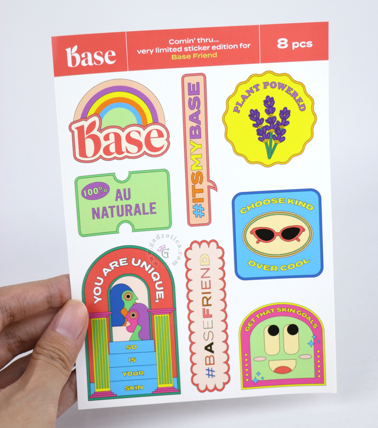 sticker base