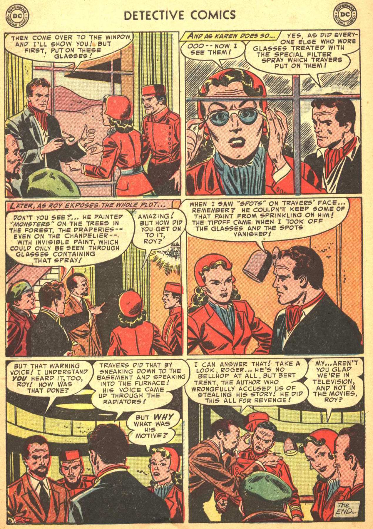 Read online Detective Comics (1937) comic -  Issue #206 - 37