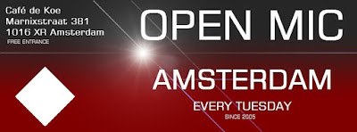 Open Podium singer songwriters nederland holland