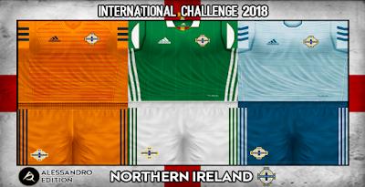 PES 6 Kits Northen Ireland National Team Season 2018/2019 by Alessandro