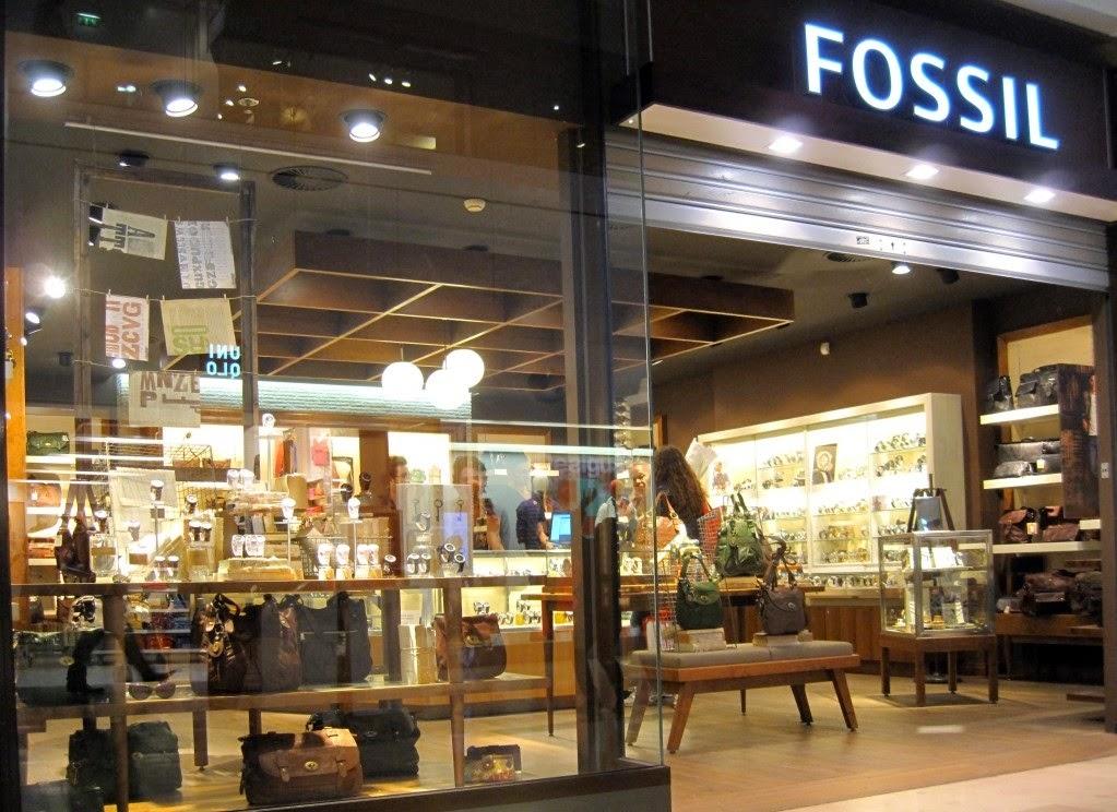 lojas  Fossil em Nova York