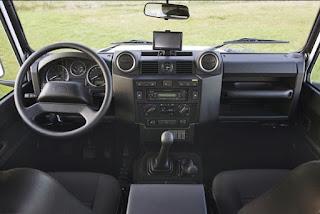 1983 Land Rover Defender 90 Cabin Interior