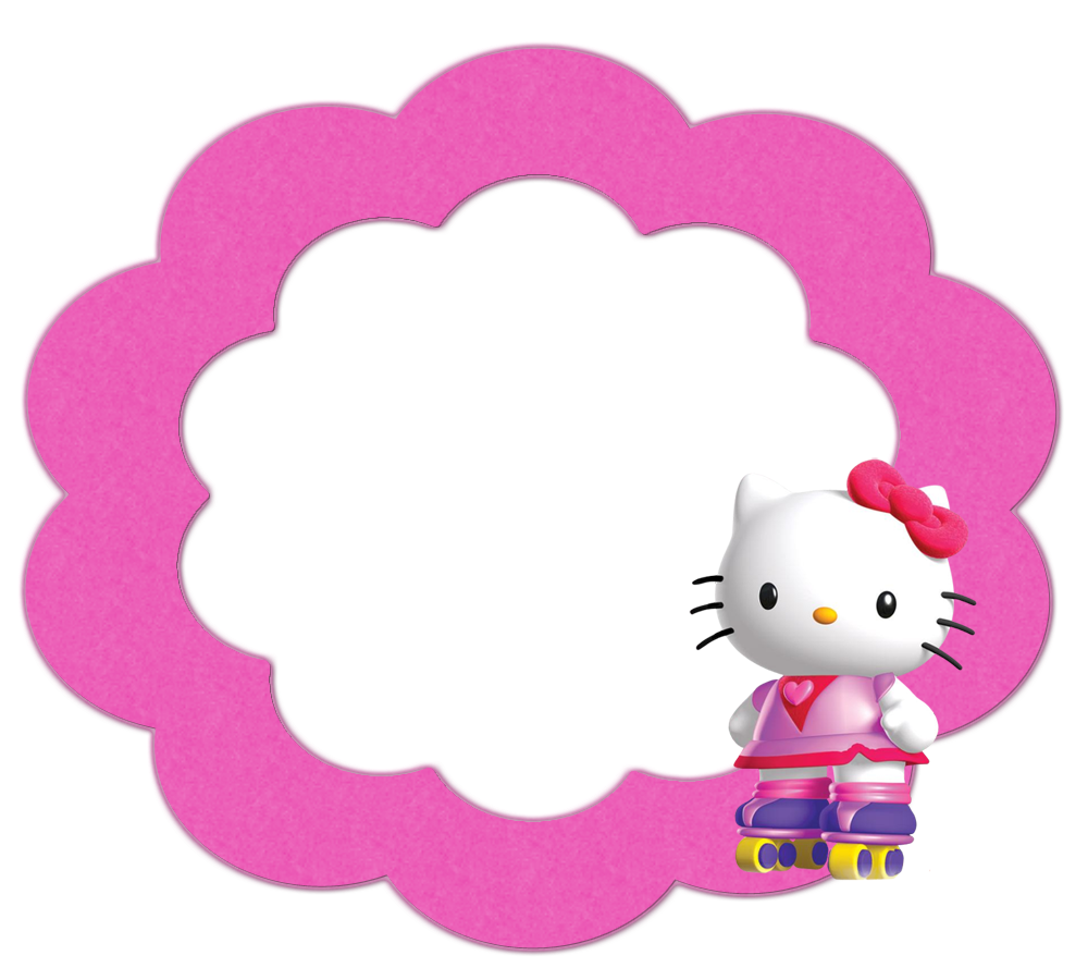 Etiquetas, Botones o Toppers del Clipart de Hello Kitty. | Ideas y ...