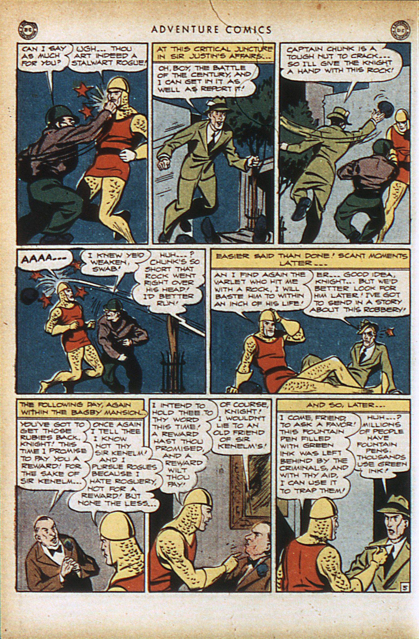 Read online Adventure Comics (1938) comic -  Issue #94 - 19