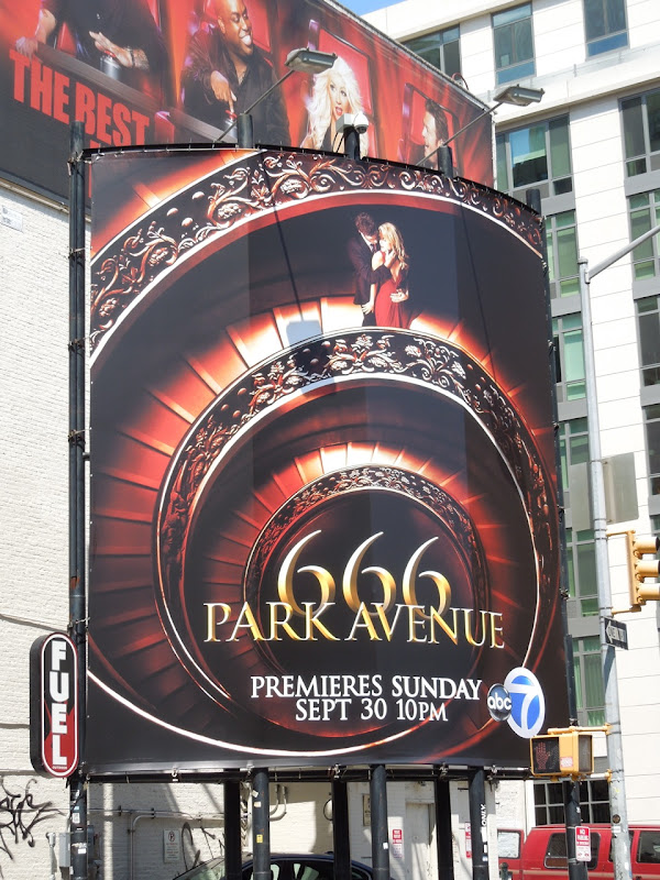 666 Park Avenue season 1 billboard NYC