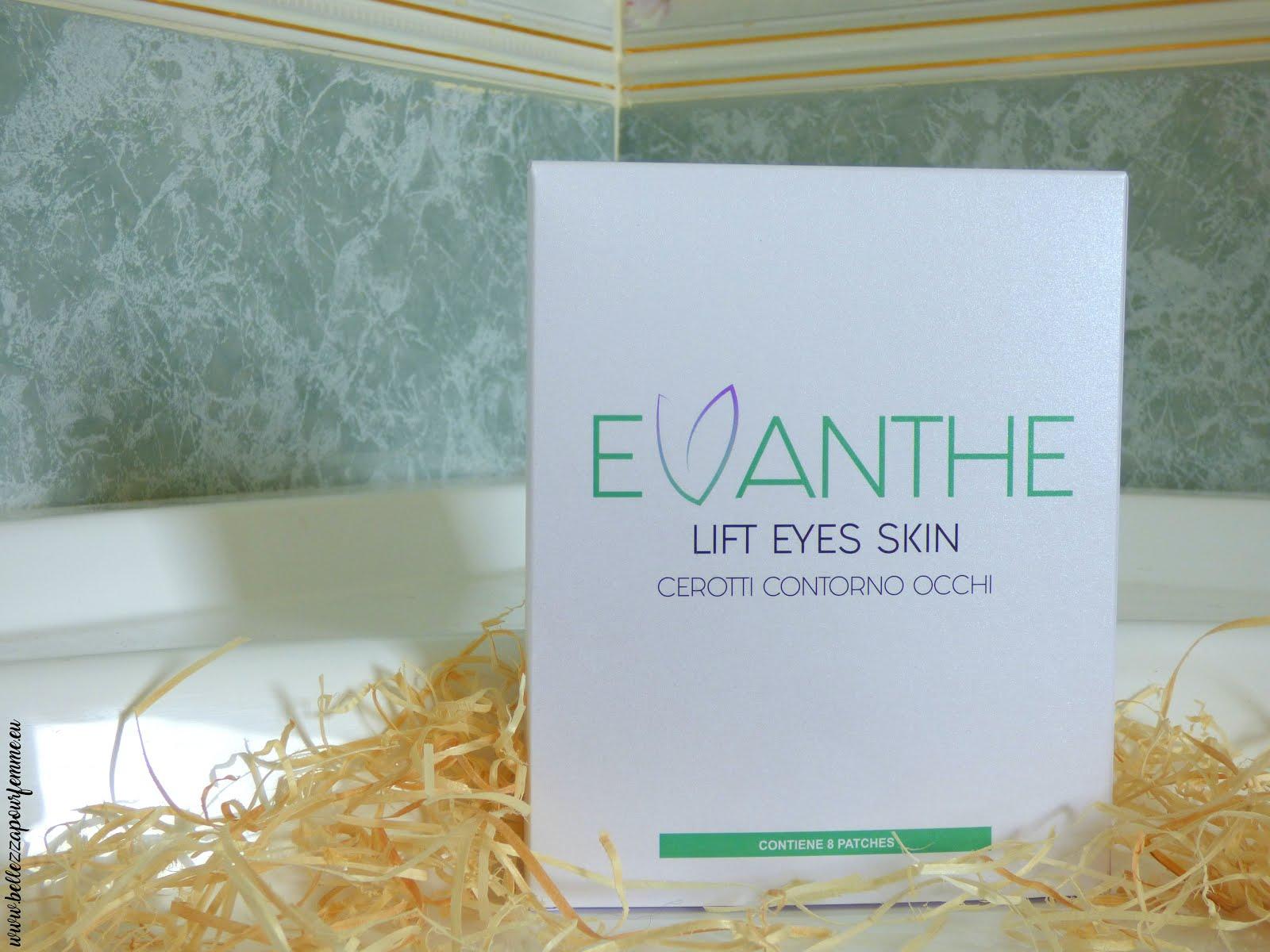 recensione Evanthe cerotti contorno occhi lift eyes skin