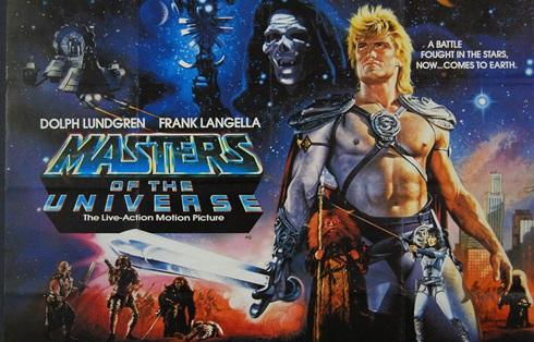 Los amos del universo [Latino][DVDRip][1987] - Portada
