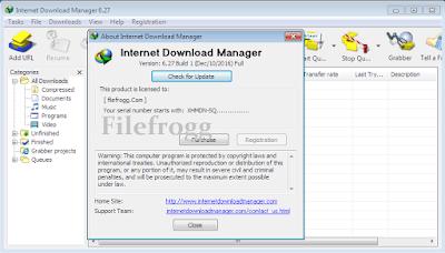 IDM 6.27 Build 5 Full Version