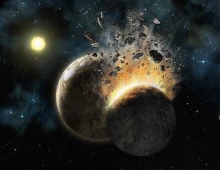 Come è nata la crosta terrestre: origini da collisione pianeta