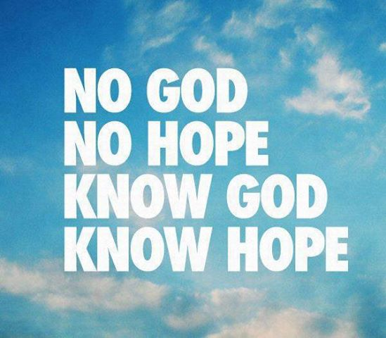On Knowing God Inspirational Quotes: Holding On To The Promises And Expectations (HOPE): Where