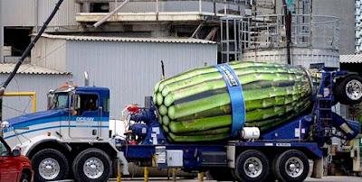 asparagus cement truck