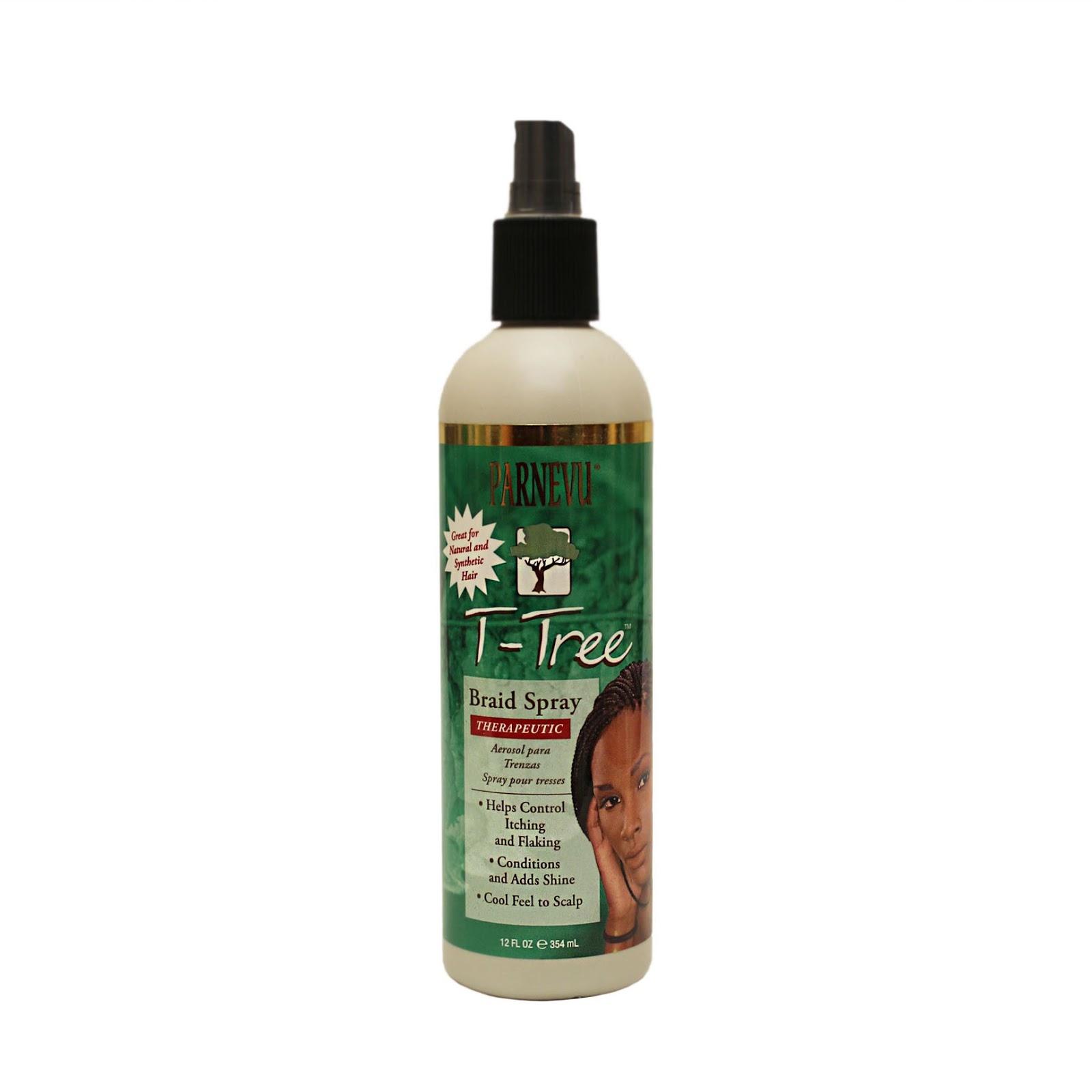 Natural Hair  Parnevu TTree Braid Spray  Scalp Oil Review  FabEllis