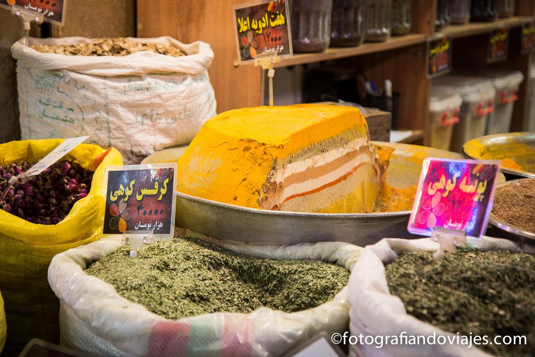 Bazares de Irán