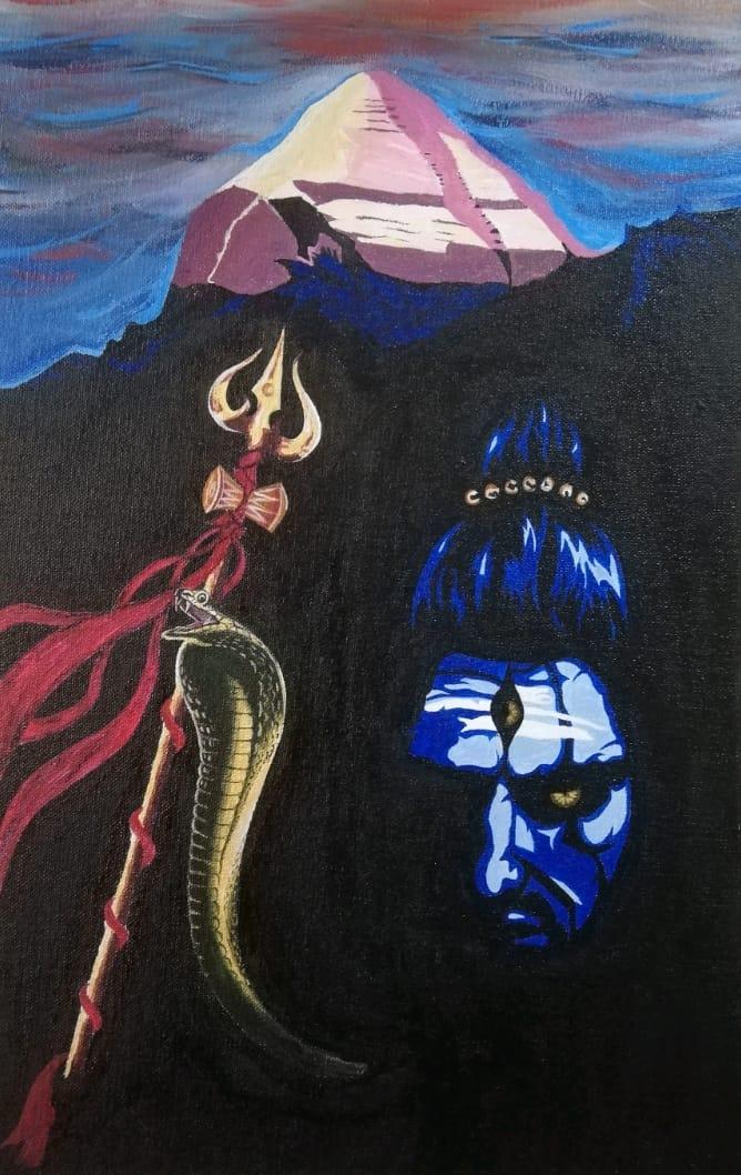 Final Shiva Painting
