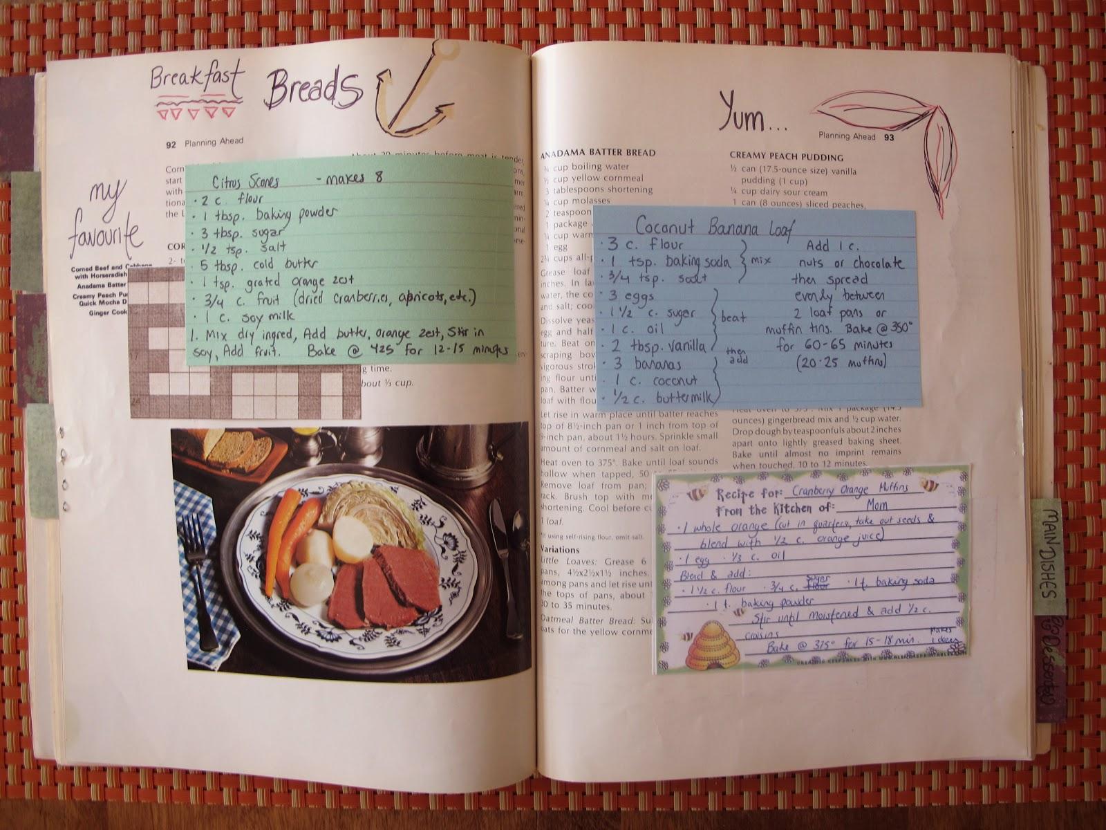 cookbook diy homemade cookbooks summer recipe books recipes pages filled sets