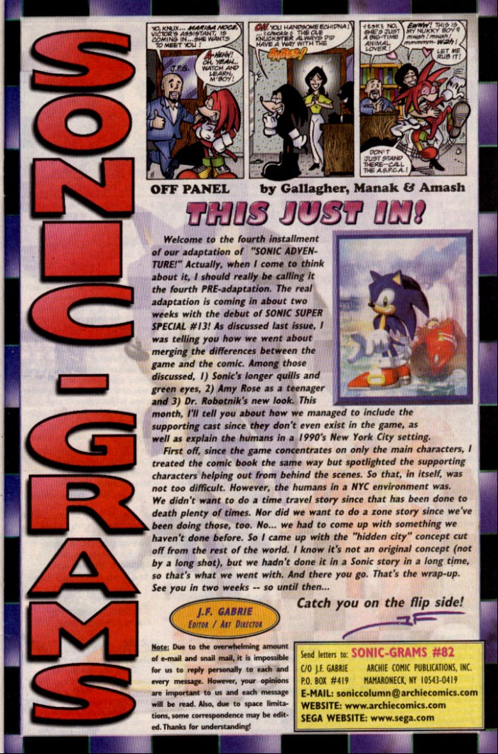 Read online Sonic The Hedgehog comic -  Issue #82 - 23