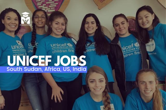 وظائف اليونيسف لعام 2019 UNICEF JOBS