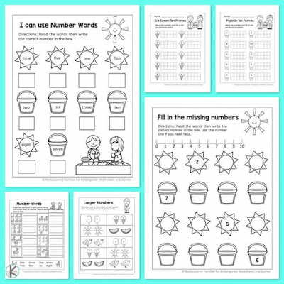counting-worksheets-preschool-kindergarten-summer-learning