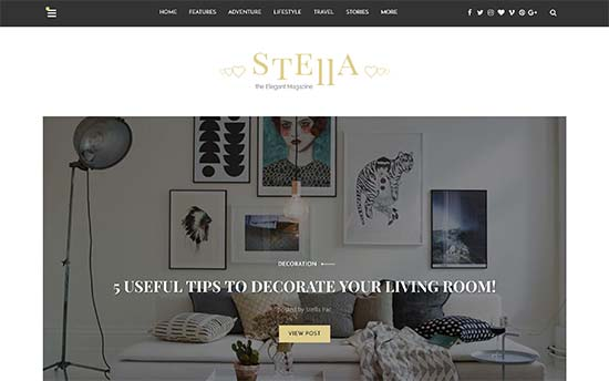 Stella Wp Theme