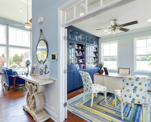 Blue and Green Coastal Design Ideas