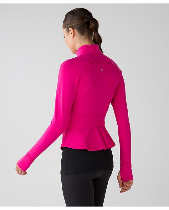 lululemon jeweled-magenta hustle-in-your-bustle-jacket