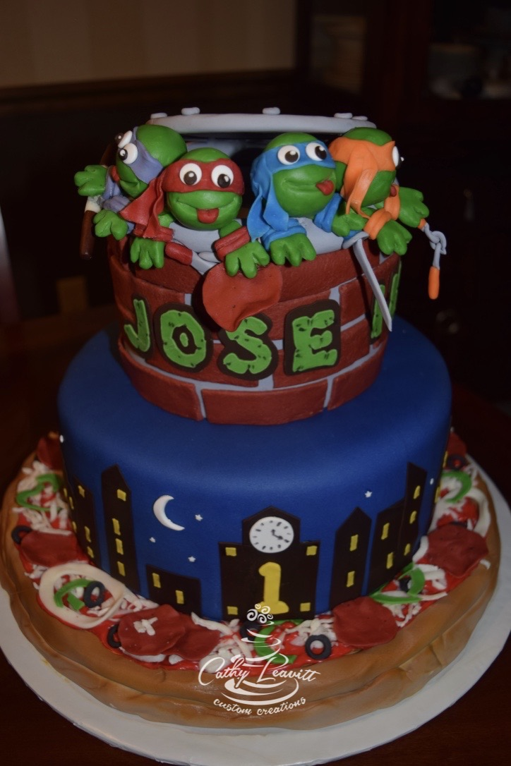 Cake Concepts By Cathy Teenage Mutant Ninja Turtles Do