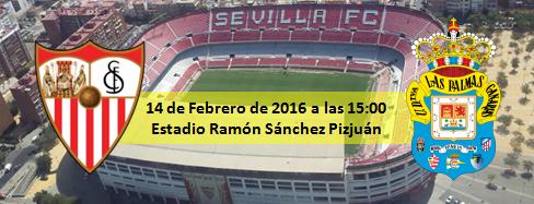 Previa Sevilla FC - UD Las Palmas estadio Sanchez Pijzjuan