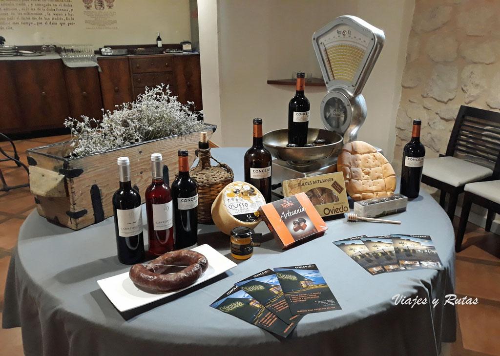 Vinos y productos típicos de bodegas concejo, Valoria la Buena