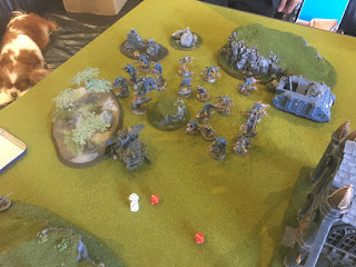40k SW vs GSC Cult claims northern objectives