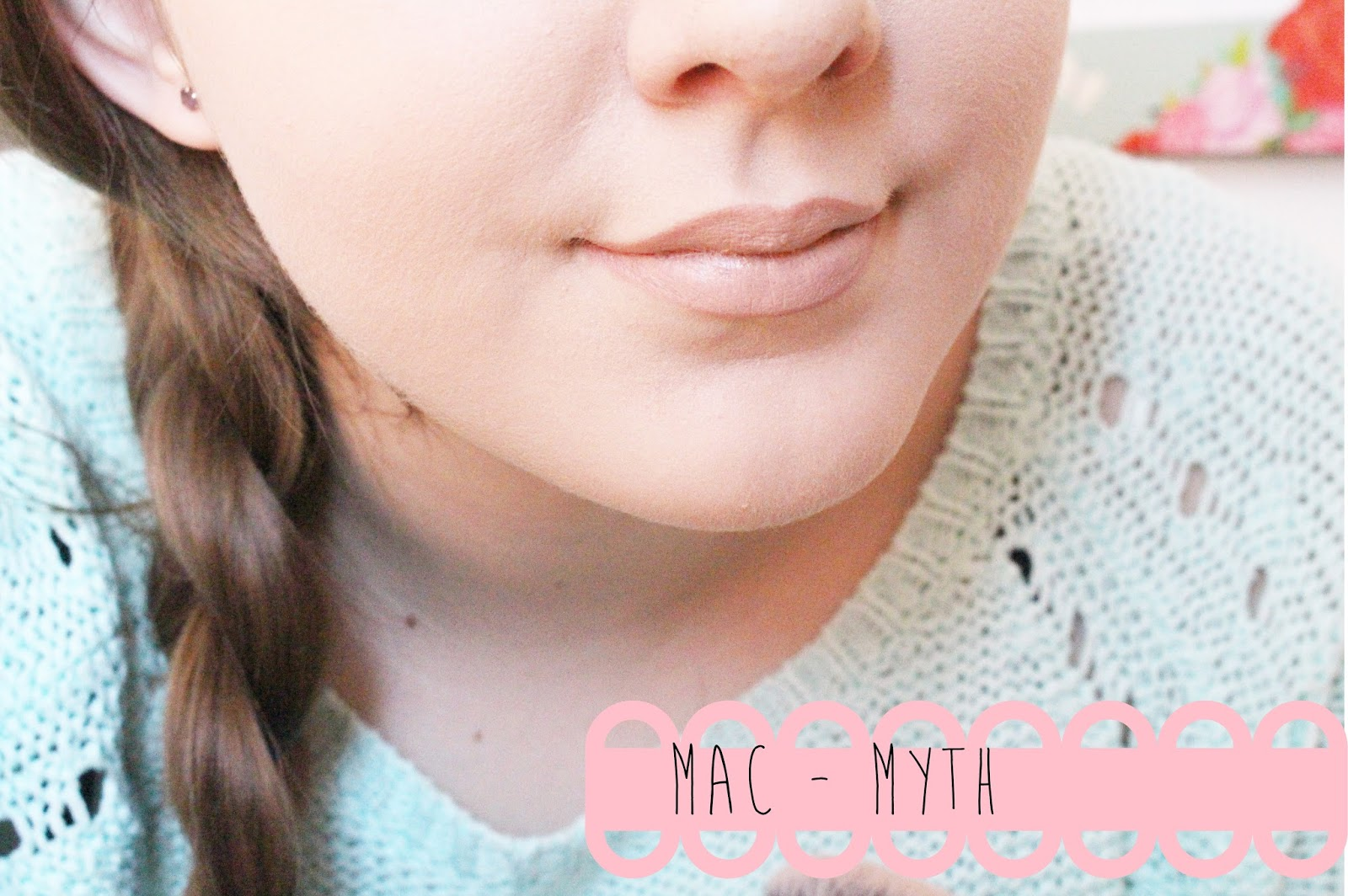 MAC Lipstick in Myth
