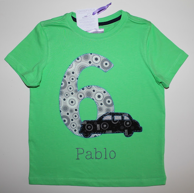 camiseta de cumpleaños 6 años