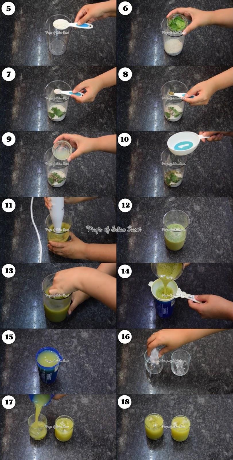 Variyali Sharbat - Refreshing Sauf Drink Recipe - वरियालि शरबत - रिफ्रेशिंग सॉफ ड्रिंक रेसिपी - Priya R - Magic of Indian Rasoi