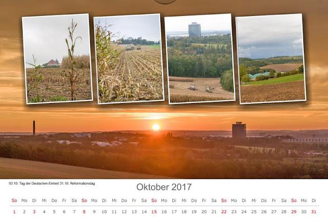 Kalenderbild Oktober 2017