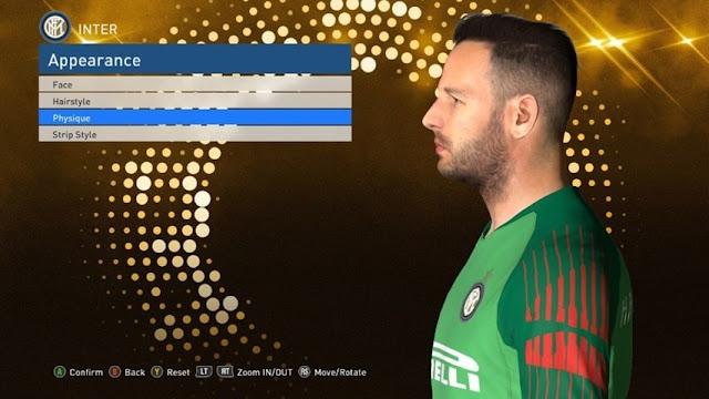 Samir Handanovic Face PES 2017