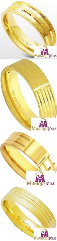 Aliança De Ouro 18k Mercado Livre - comprar alianças de ouro 18k 493eb7fd99