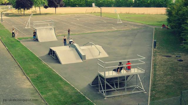 skatepark joué les tours