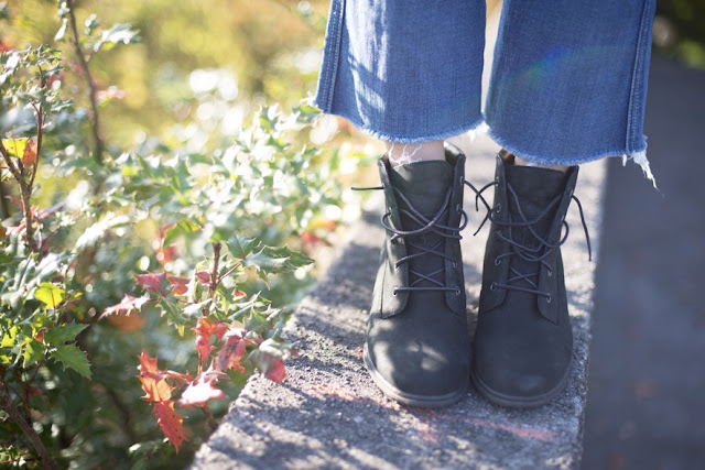 timberland wedge boot