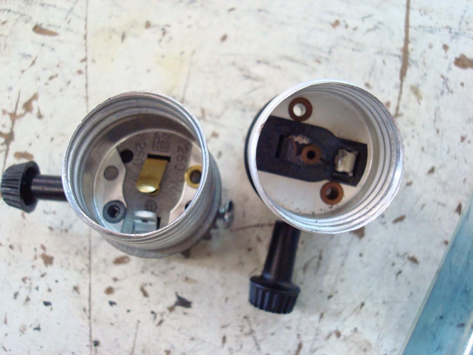Lamp Parts and Repair  Lamp Doctor: Large Bronze Table Lamp Flickers