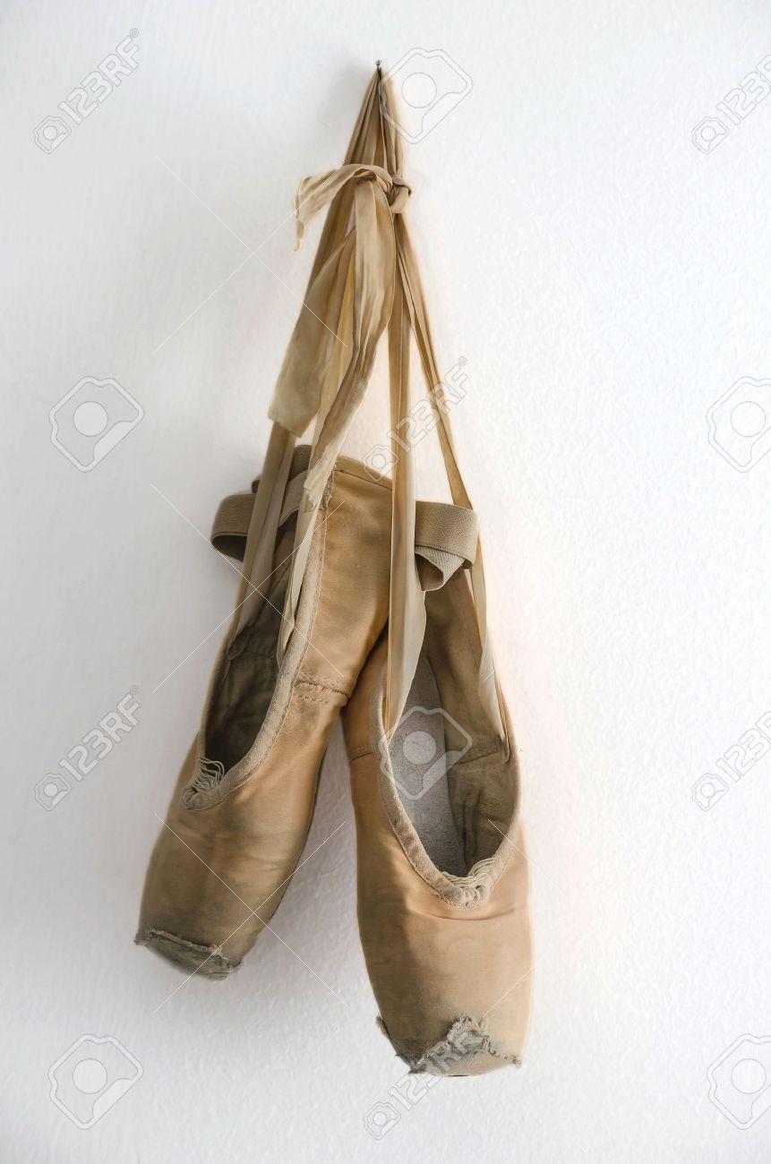 d1906e42ecc0 The conventionally made, old style pointe shoe often had a span of only one  performance. Due to their frailty, the danseuse would require to replace  her ...