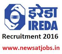 ireda+recruitment+2016