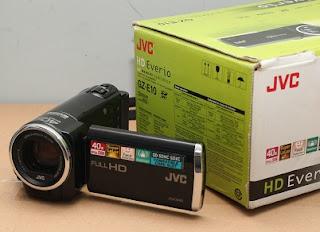 Di Jual Handycam HD  - JVC GZ-E10