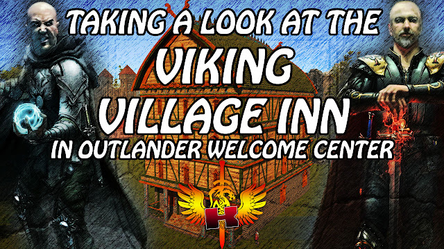 Taking A Look At The Viking Village Inn In Outlander Welcome Center