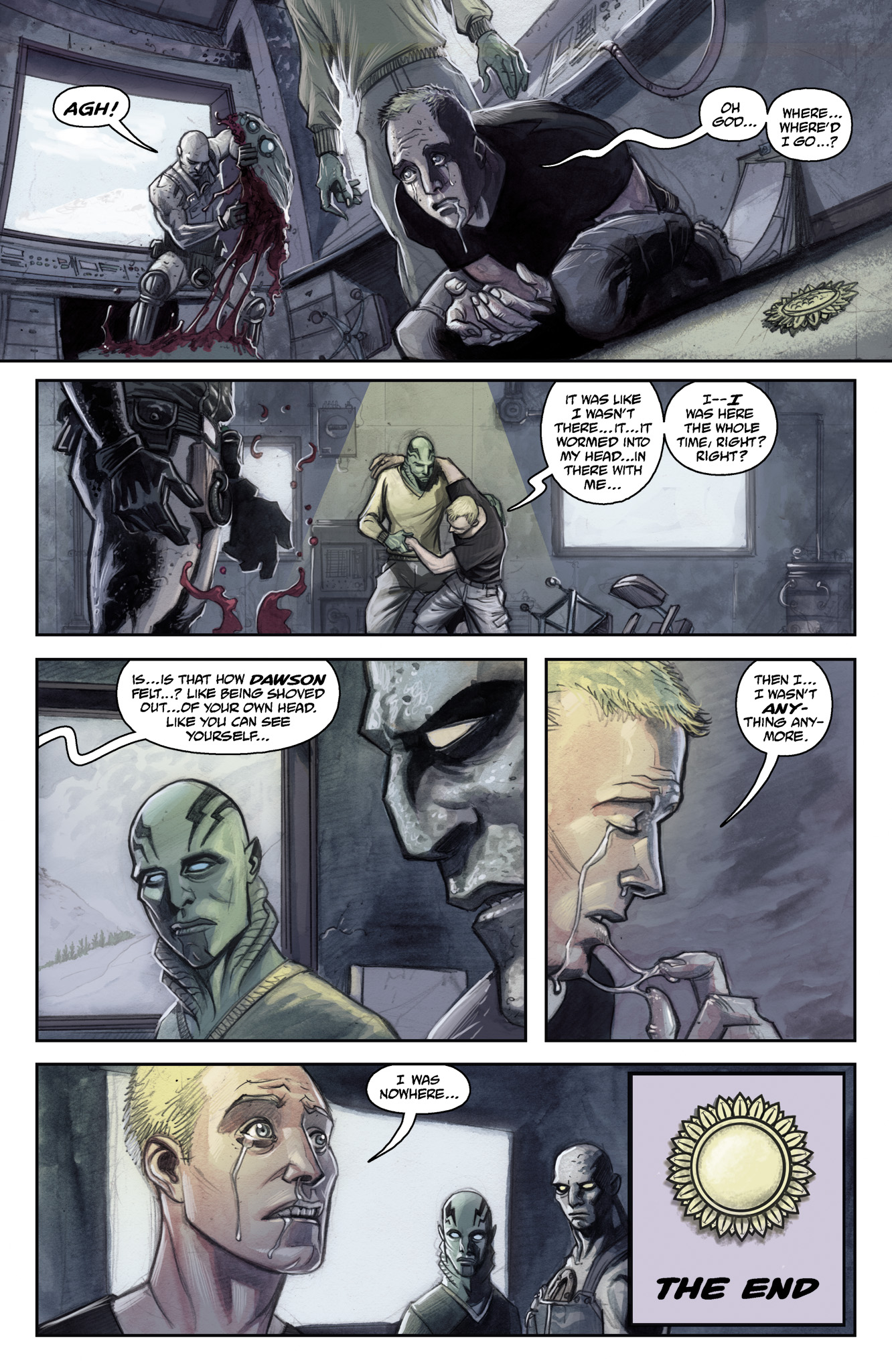 Read online Abe Sapien comic -  Issue #15 - 23