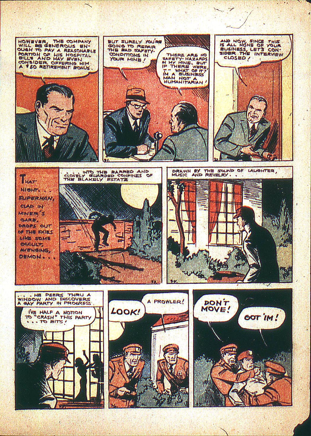 Read online Action Comics (1938) comic -  Issue #3 - 7